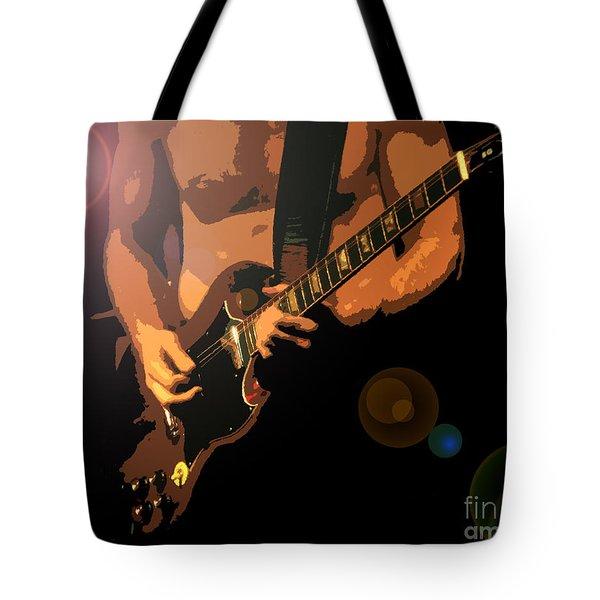 Rock Hero Tote Bag by David Lee Thompson