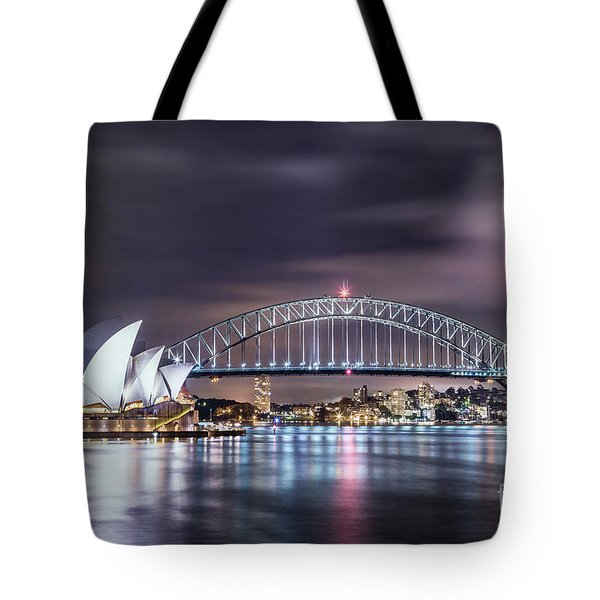 Rock Into The Night Tote Bag