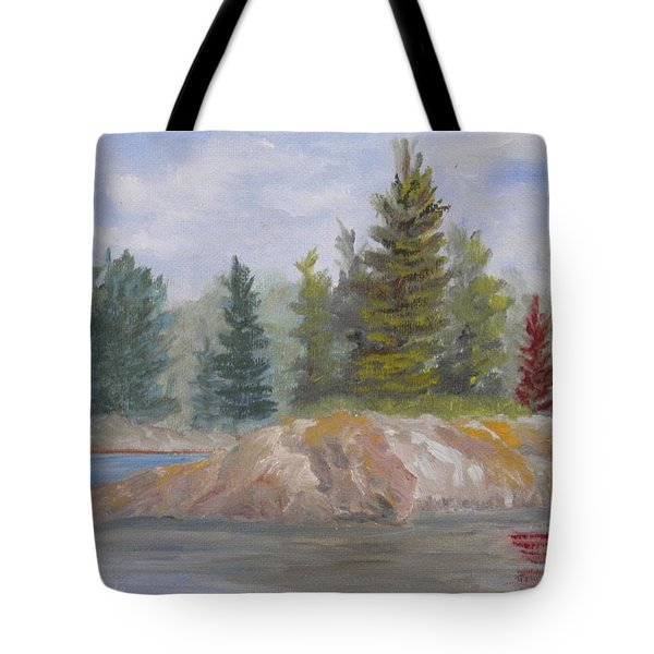 Rock Island Tote Bag