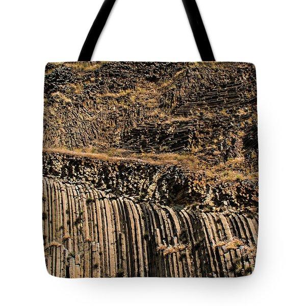 Rock Mountain Rock Art By Kaylyn Franks Tote Bag