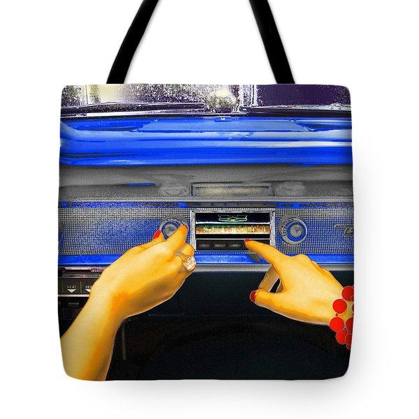 Rock N Roll Radio Tote Bag
