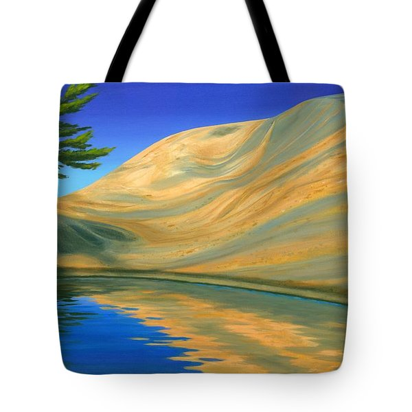Rock Of Ages Tote Bag by Michael Swanson