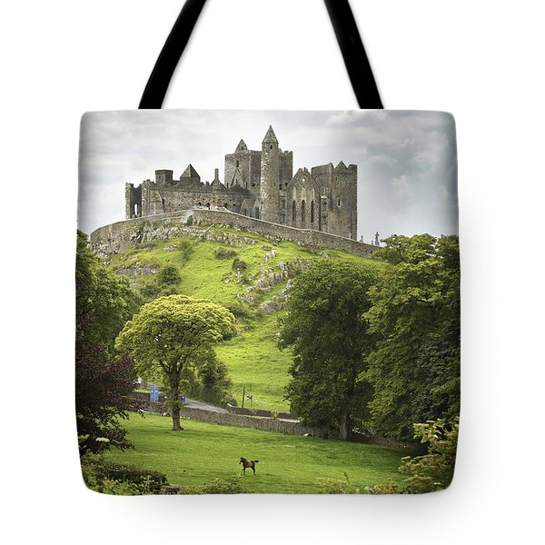 Rock Of Cashel Cashel County Tipperary Tote Bag
