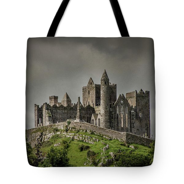 Tote Bag featuring the photograph Rock Of Cashel by Teresa Wilson