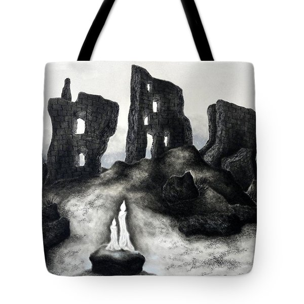 Rock Of The Candle Tote Bag
