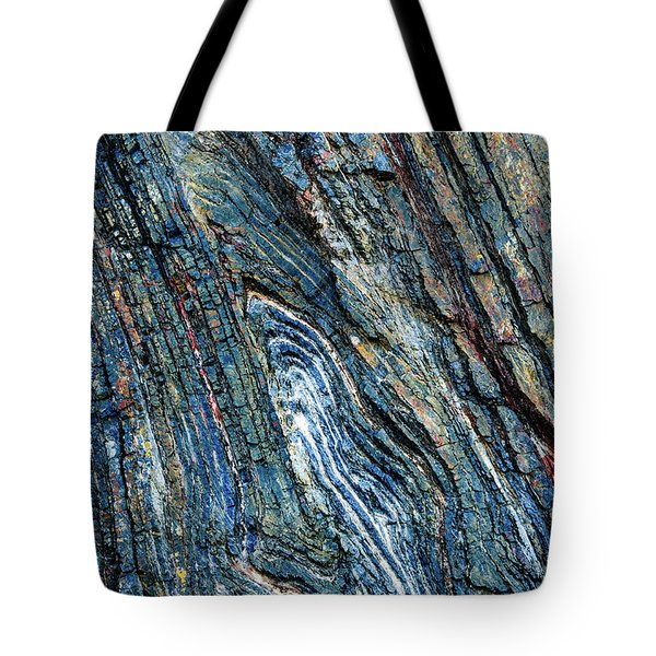 Tote Bag featuring the photograph Rock Pattern Sc03 by Werner Padarin
