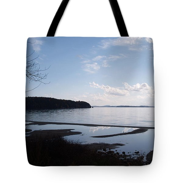 Tote Bag featuring the photograph Rock Point North View Vertical by Felipe Adan Lerma