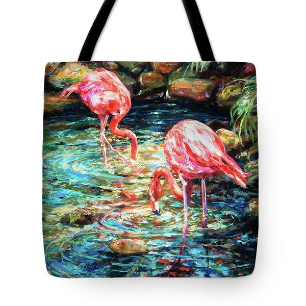 Rock Pond Tote Bag