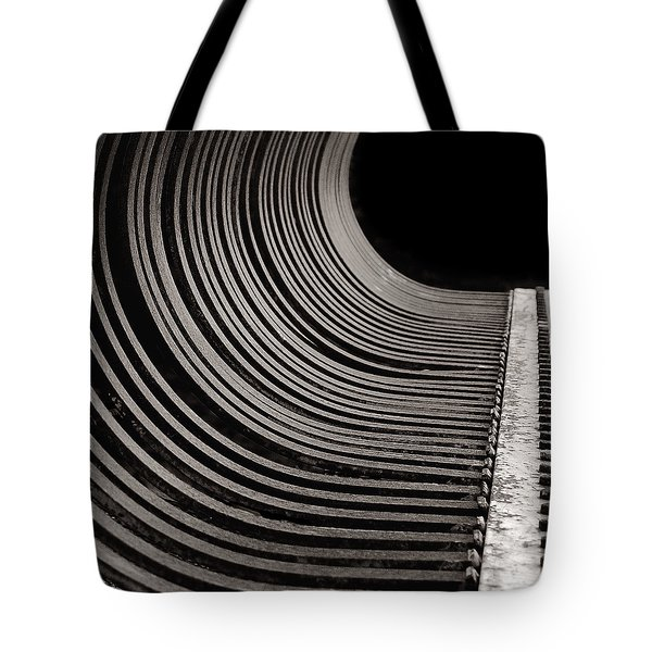 Tote Bag featuring the photograph Rock Rake by Susan Capuano