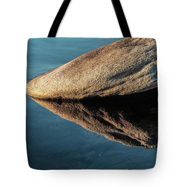 Rock Reflection Tote Bag