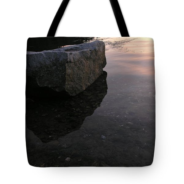 Rock Reflections Tote Bag