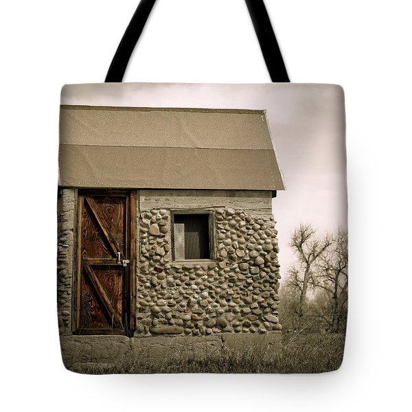 Rock Shed 2 Tote Bag by Marilyn Hunt