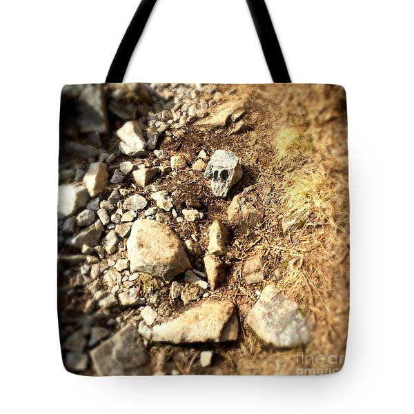 Rock Skull Tote Bag