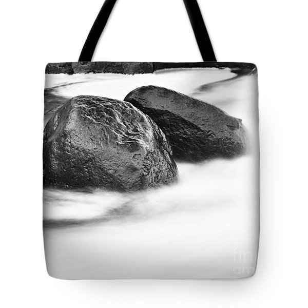 Tote Bag featuring the photograph Rock Solid by Larry Ricker