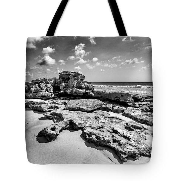 Rock Spill Tote Bag by Alan Raasch