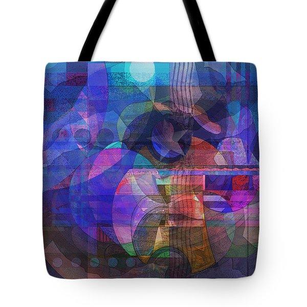 Tote Bag featuring the digital art Rock Star by David Klaboe