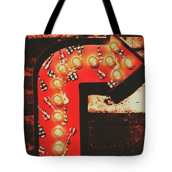 Tote Bag featuring the photograph Rock Through This Way by Jorgo Photography - Wall Art Gallery