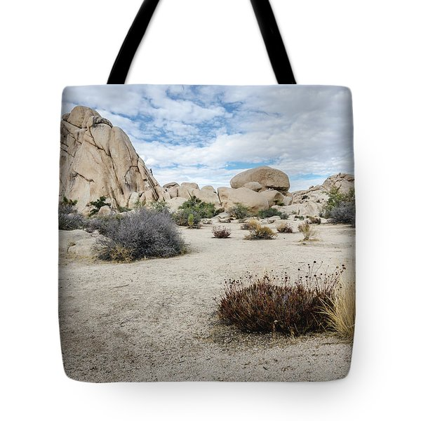 Rock Tower No.2 Tote Bag
