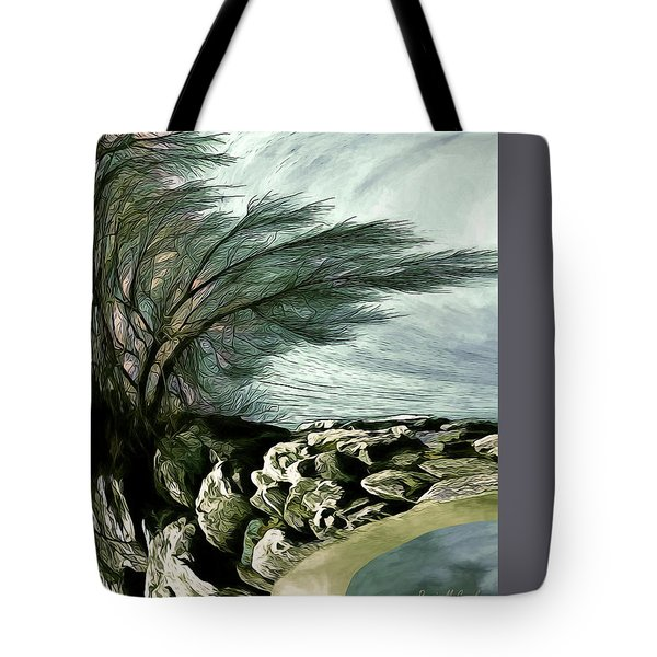 Tote Bag featuring the photograph Rock Tunnel by Pennie  McCracken