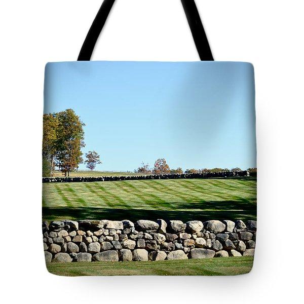 Rock Wall Lawn Tote Bag
