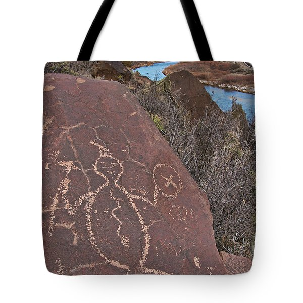 Rock Warrior Tote Bag
