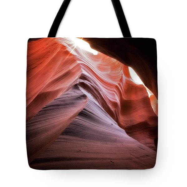 Rock Waves Tote Bag by Nicki Frates
