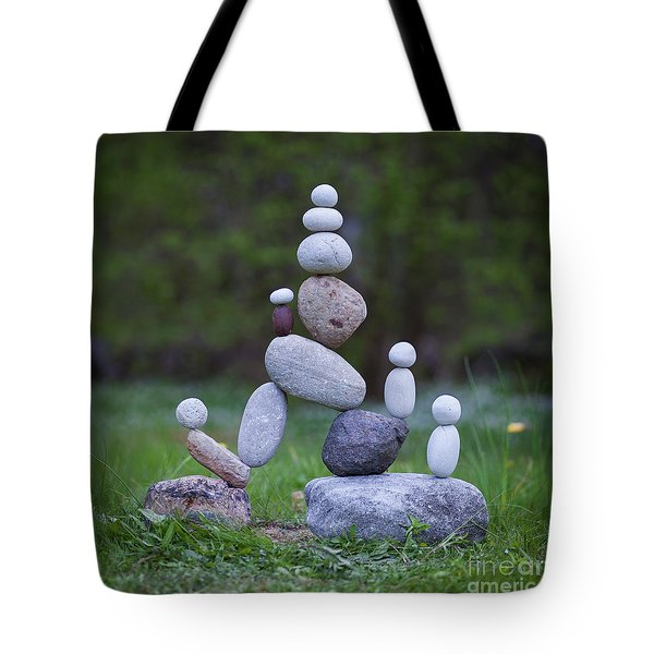 Rock Yoga Tote Bag