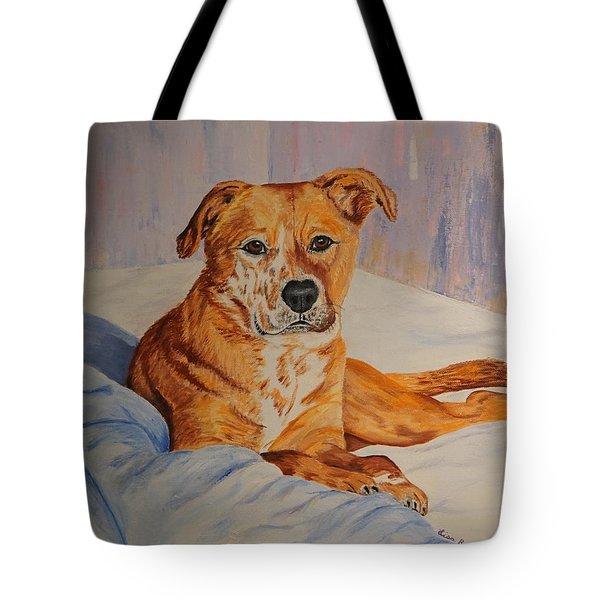 Rockaroni Tote Bag by Lisa Rose Musselwhite
