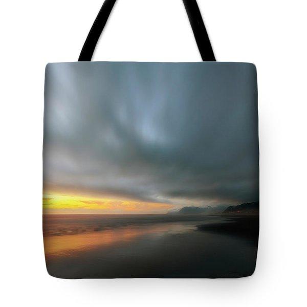 Rockaway Sunset Bliss Tote Bag