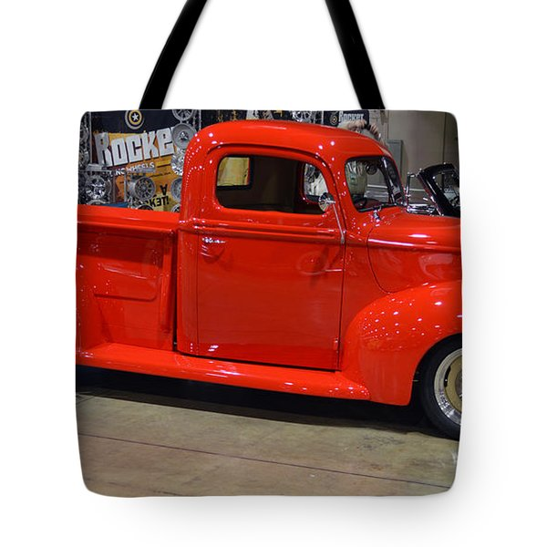 Rocked Ford Pickup Tote Bag