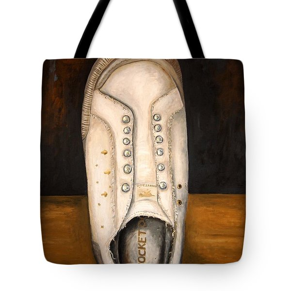 Rocket Dog 2 Tote Bag by Leah Saulnier The Painting Maniac