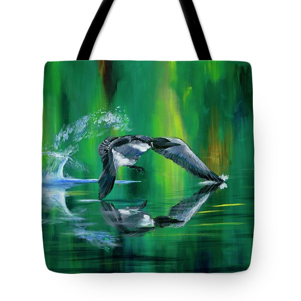 Rocket Feathers Tote Bag
