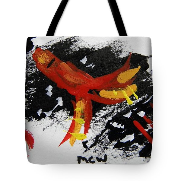 Rocket Man Tote Bag