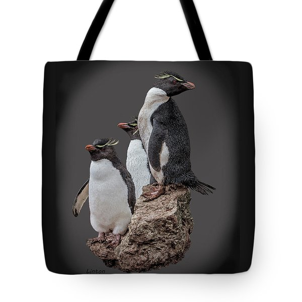 Rockhopper Penguins Tote Bag