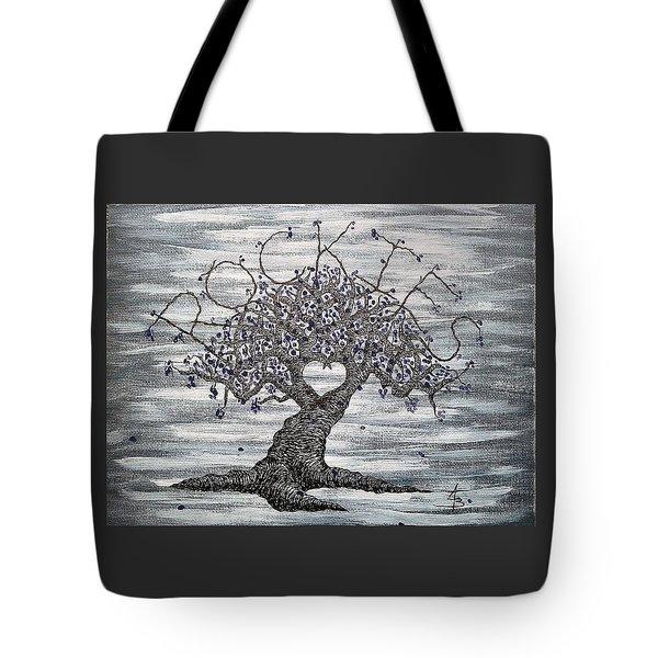 Rockies Love Tree Tote Bag