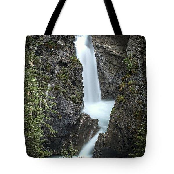 Rockies Waterfall Tote Bag