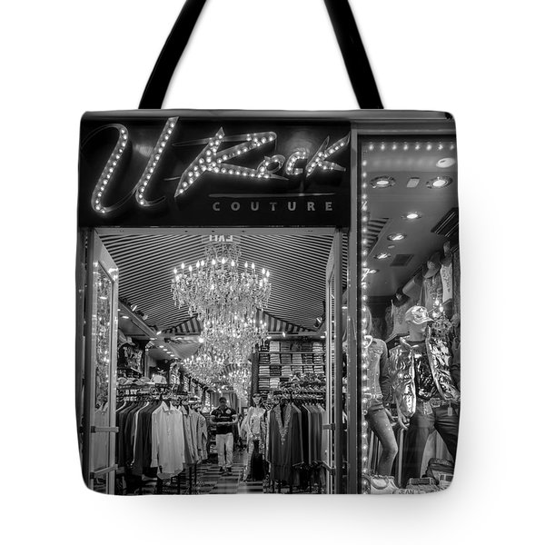 Tote Bag featuring the photograph Rockin' Couture by Melinda Ledsome