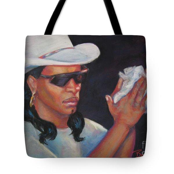 Zydeco Man Tote Bag