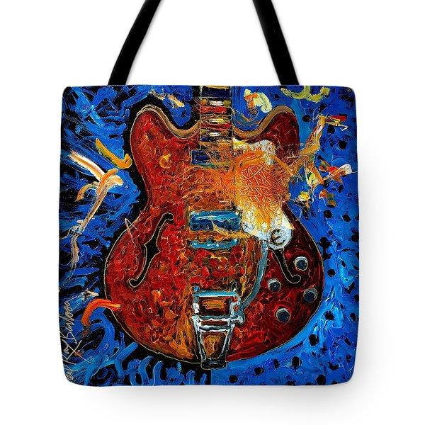 Rockin Epiphone Tote Bag