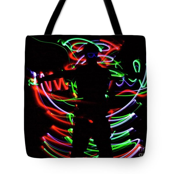 Tote Bag featuring the photograph Rockin' In The Dead Of Night by Xn Tyler