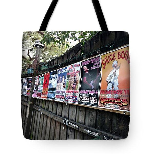 Rockin Smoke House Tote Bag