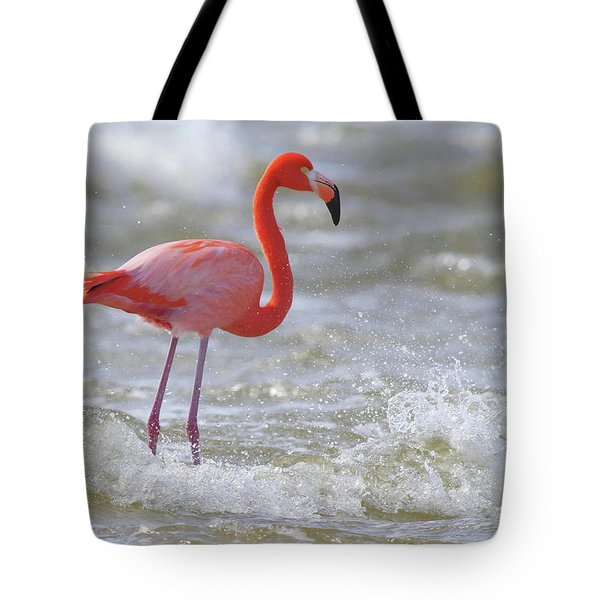 Rockin' Waves Tote Bag