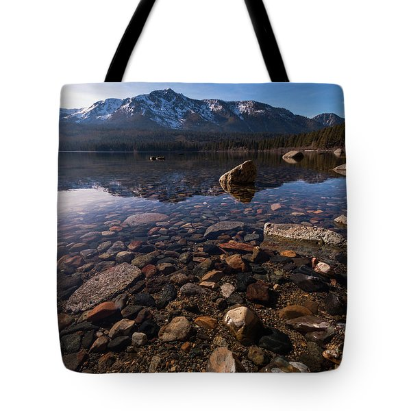 Rocking Into The Reflection Tote Bag