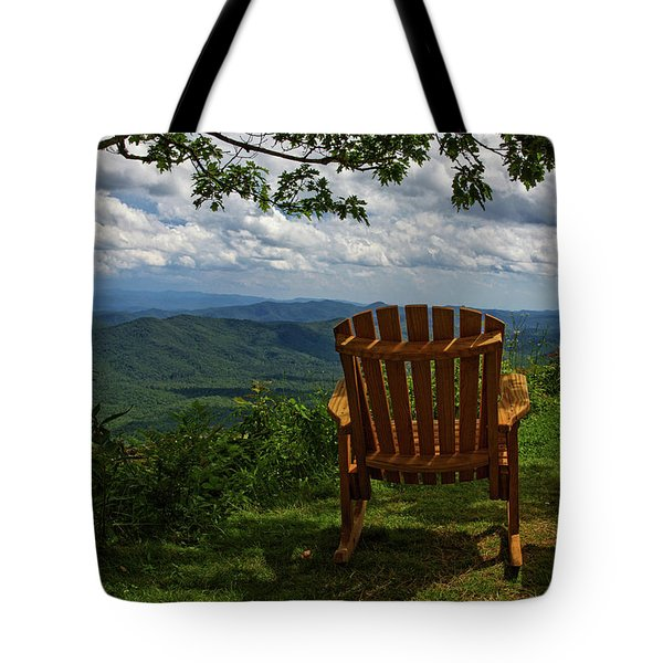Rocking The Smokies Tote Bag