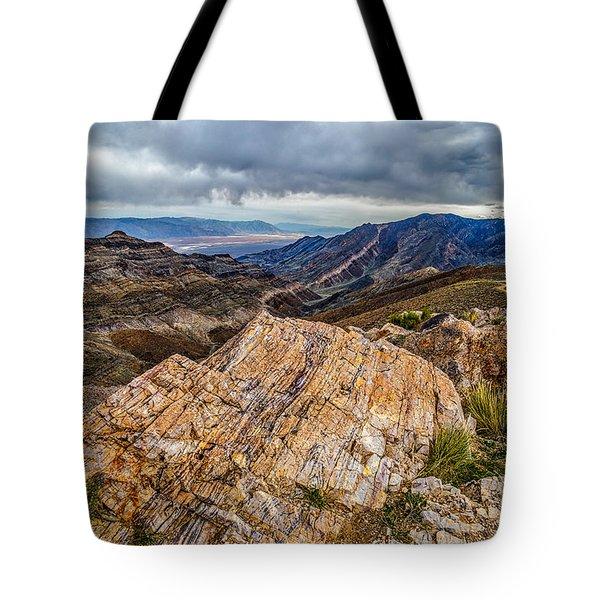 Rockline Tote Bag