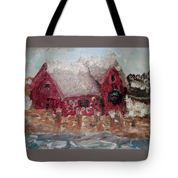 Rockport Christmas 1 Tote Bag