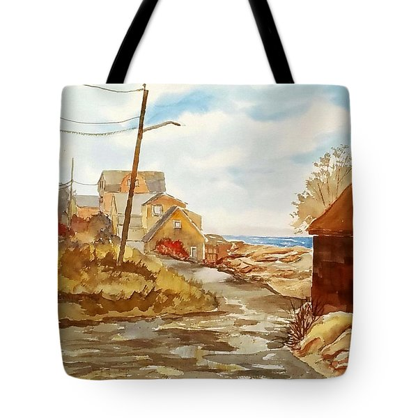 Rockport Coast Tote Bag