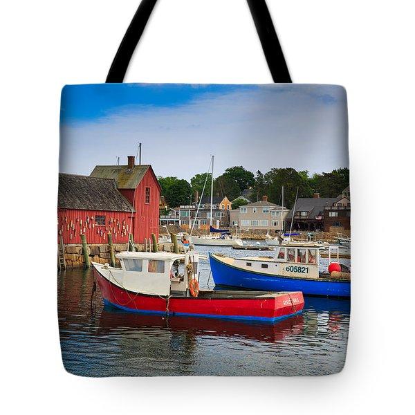 Rockport Harbor 2 Tote Bag