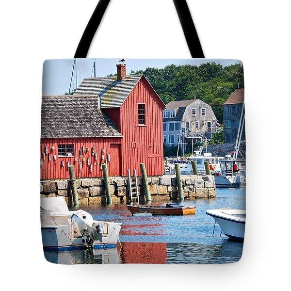 Rockport Motif 1 Tote Bag