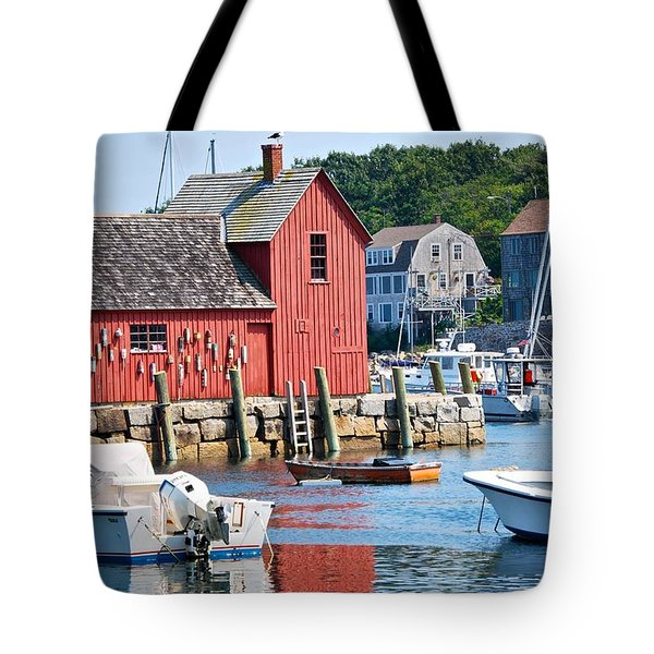 Rockport Motif 1 Tote Bag